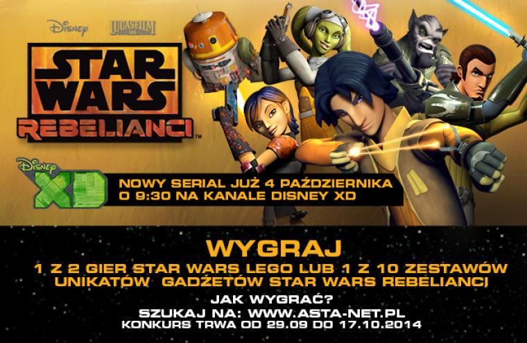 Wyniki Konkursu Star Wars Rebelianci Asta Net Stajemy Się Lepsi