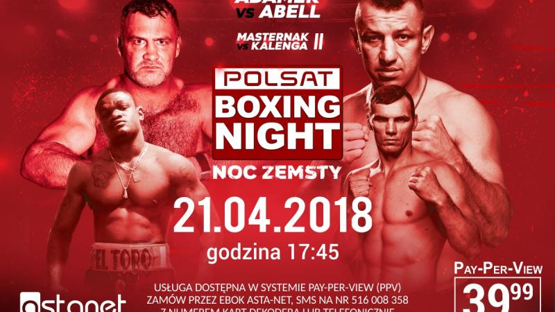Polsat Boxing Night: Noc zemsty!