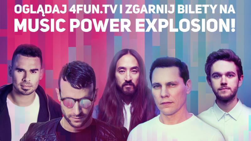 Wygraj bilety na Music Power Explosion!