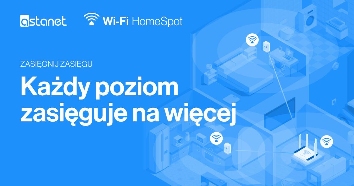 Wi-Fi HomeSpot - nowa usługa w ASTA-NET